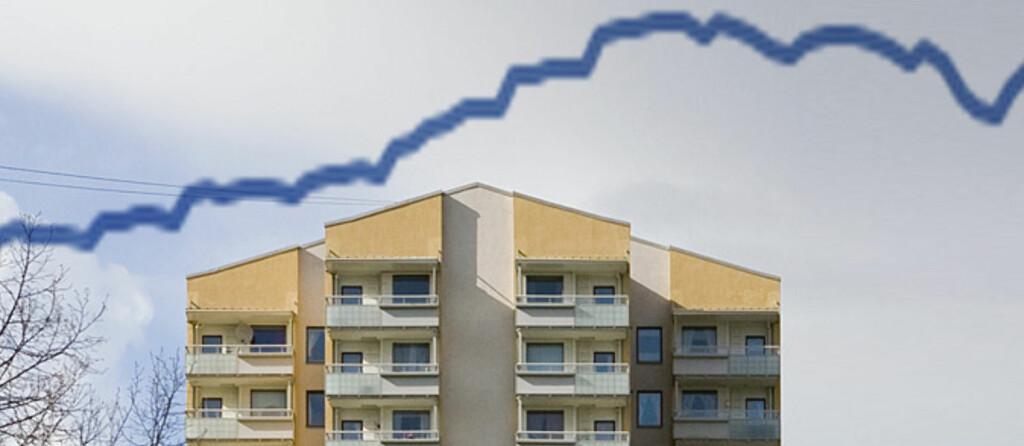 Nå flater boligprisene ut. Foto: Per Ervland