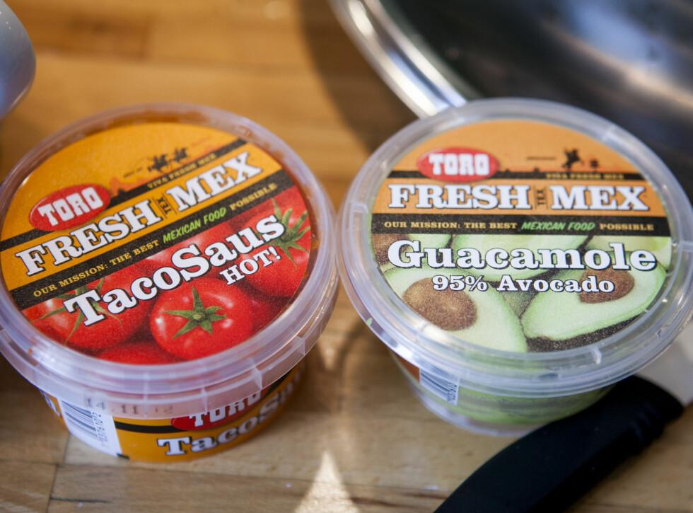 Av Toros nye produkter, er det salsaen og guacamolen som klarer seg best. Foto: Per Ervland