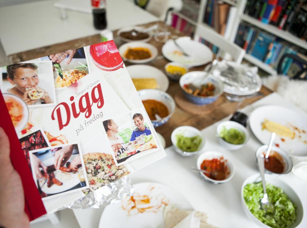 Jørgen O. Granns siste kokebok, Digg på fredag. Foto: Per Ervland