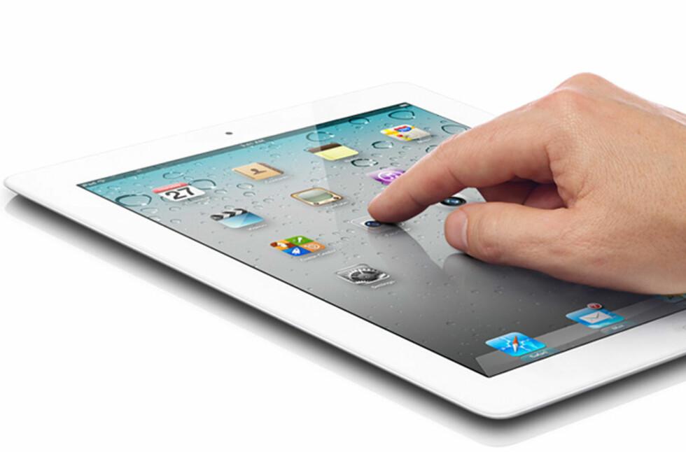 Både iPhone og ikke minst iPad-en er populære ved e-handel, viser nye tall fra betalingsformidleren Dibs.