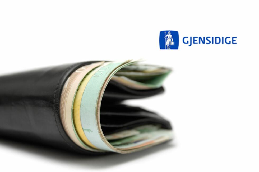 Mange Gjensidige-kunder har fortsatt penger til gode fra fjorårets overskudd. Foto: ALL OVER PRESS