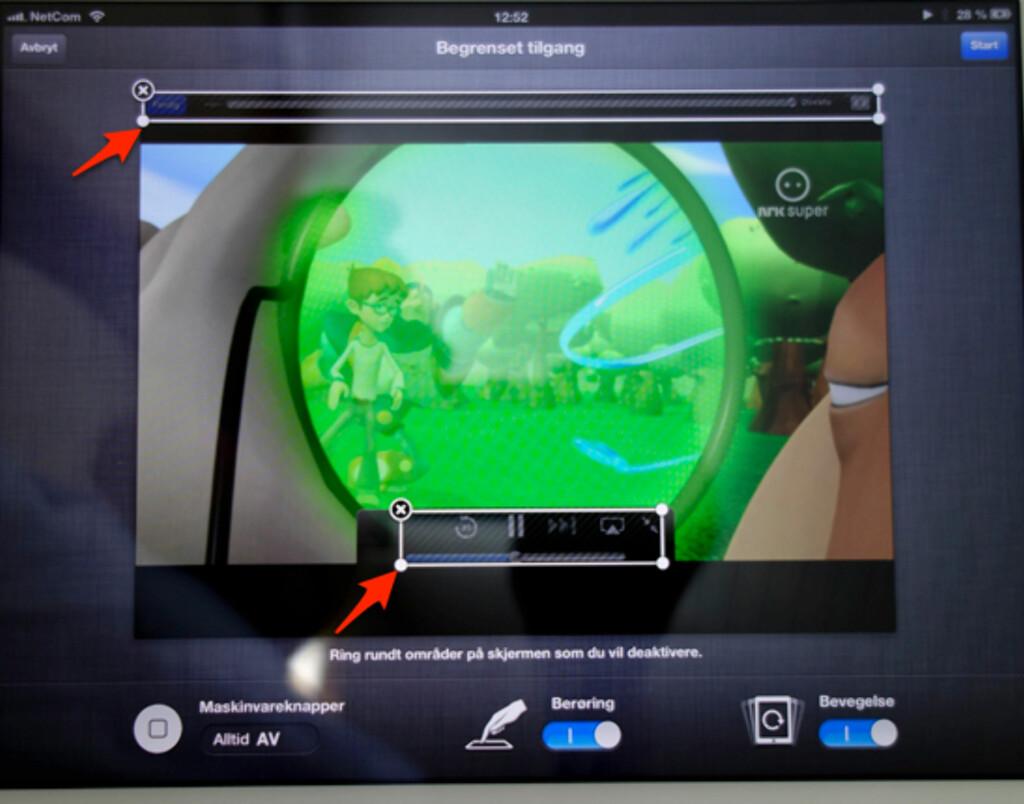 image: Deaktiver hjem-knappen på iPhone og iPad