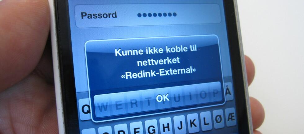 Mange melder om problemer med trådløst nett etter å ha oppgratert til iOS 6. Foto: Bjørn Eirik Loftås