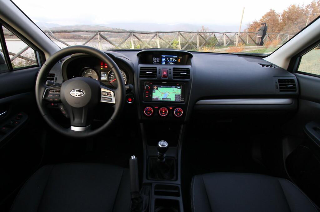 Dette er den bensinbilen LeasePlan mener kommer til å holde seg best i verdi de neste fem årene: Subaru XV, En Impreza-basert kompakt-SUV som selger meget godt i Norge. Foto: Fred Magne Skillebæk