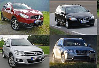Bilene som holder seg best i pris