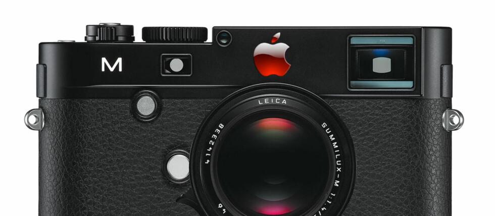 """""""APPLE-KAMERA"""": Sir Jonathan Ive fra Apple skal designe et Leica-kamera. Som skal bli solgt i ett eksemplar.  Foto: Pål Joakim Olsen"""