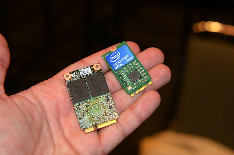 SSD i to formater: mSATA og NGFF  Foto: AnandTech