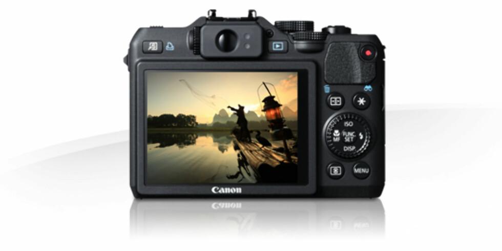 Powershot G15 - bakside Foto: Canon