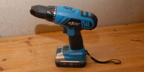 image: 18 volts batteridrill fra Clas Ohlson