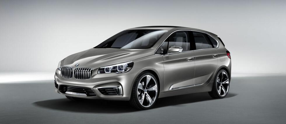 Dette blir etter alt å dømme BMWs konkurrent til Mercedes B-klasse