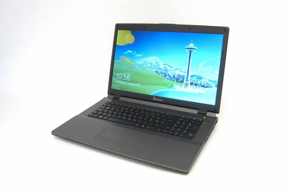 Den er svært rask, og prisen er slett ikke ille. Dette er en stor og velutstyrt PC som kan brukes til det aller meste. Foto: Alle bilder: Bjørn Eirik Loftås