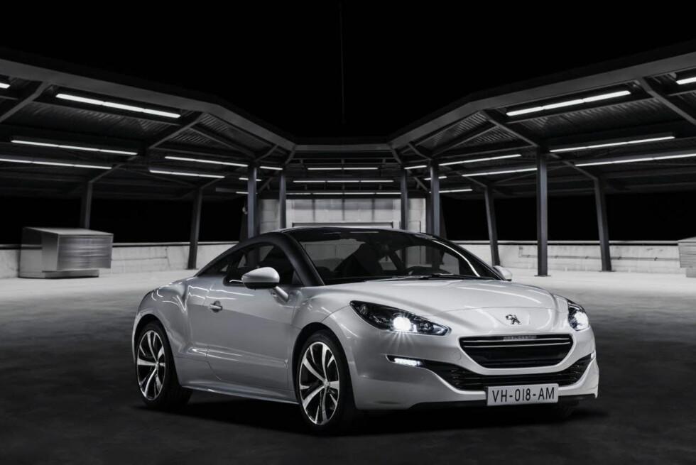 Enda penere enn før, synes vi. La du merke til Peugeot-navnet i grillen? Foto: Produktbilde