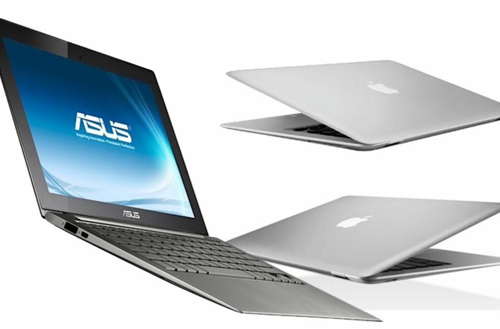 Både Apple og PC-produsentene er ventet å komme med nye modeller basert på Haswell-prosessoren. De vil by på inntil 10 timer batteritid, hevder Intel.