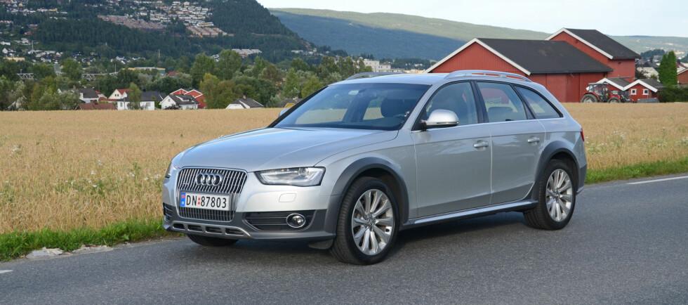 Audi A4 Allroad er oppdatert i tråd med resten av A4-familien Foto: Cato Steinsvåg