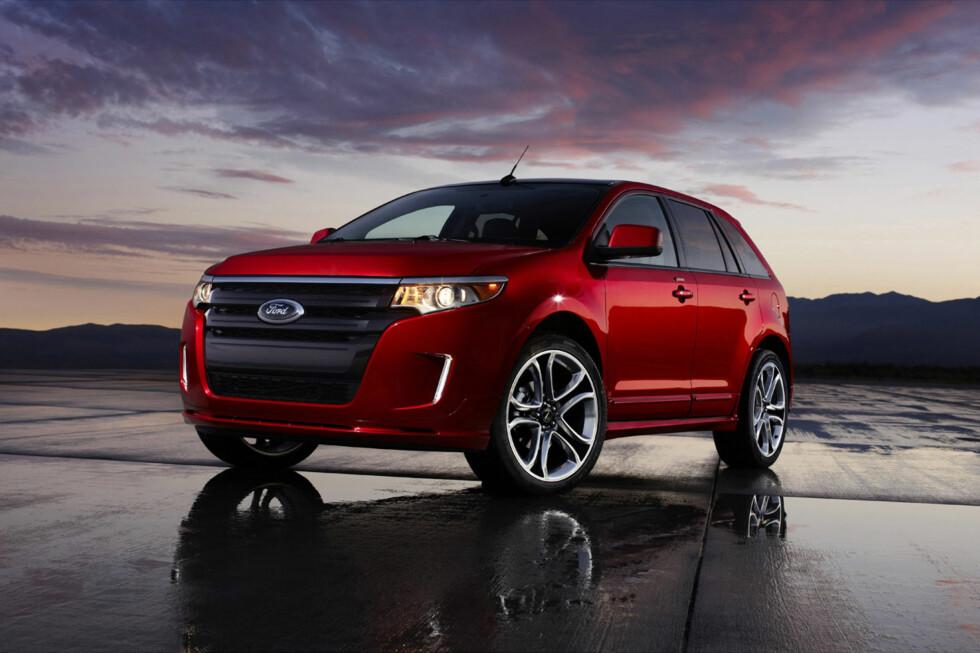 Nå er det offisielt: Folk i Europa skal også få kjøpe Ford Edge fra sin Ford-forhandler. Ford har bestemt å globalisere tilbudet som en del av sin nye store Europa-satsning. Foto: Ford
