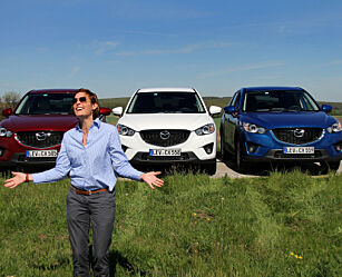 image: Mazda CX-5 offer for sin suksess