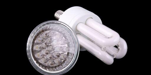 image: LED er bedre enn sparepærer