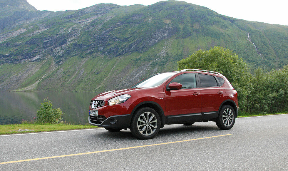 Nissan Qashqai drar på årene, men selger fortsatt bra