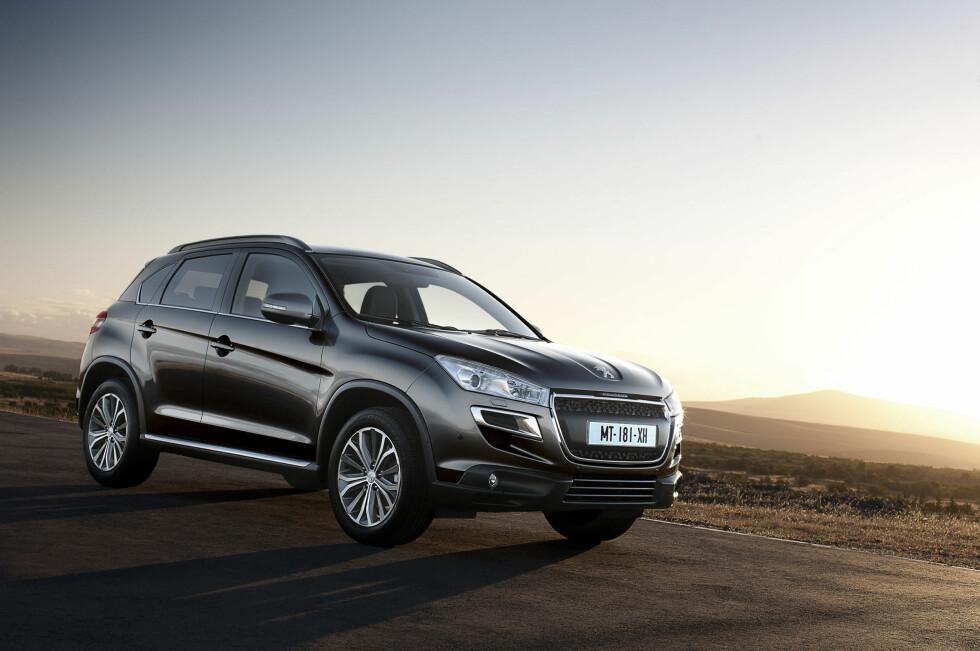 Peugeot 4008 er ikke rimeligst, men den er velutstyrt helt fra standardmodellen