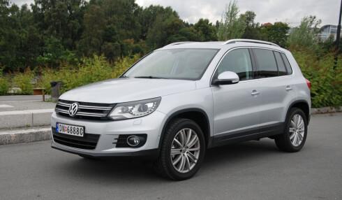 Volkswagen Tiguan er med sin startpris på 386.000 langt fra den rimeligste SUVen, men den selger likevel svært godt for tiden