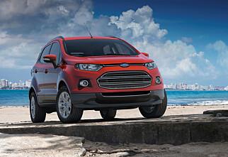 Ford EcoSport: Kugas lillebror