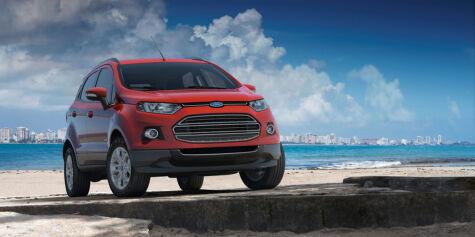 image: Ford EcoSport: Kugas lillebror