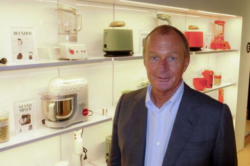 Ifølge Jørgen Bodum, CEO i Bodum, er det ikke bare utstyret det kommer an på. Men det hjelper. Foto: Per Ervland