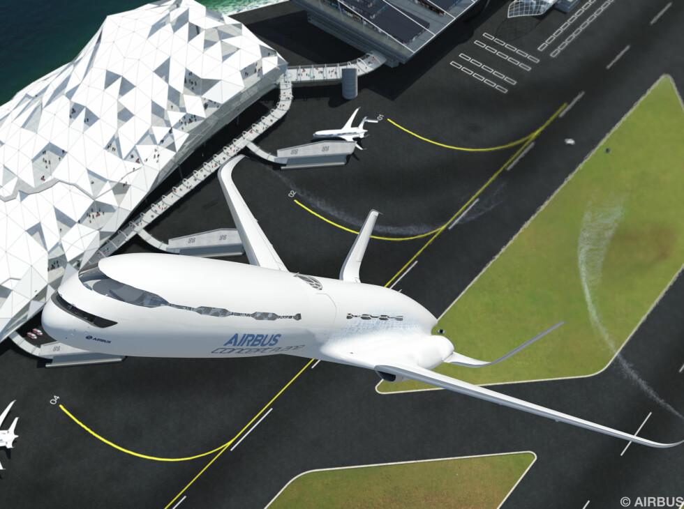 Kjapp avgang og fort opp i marsjhøyde. Foto: Airbus
