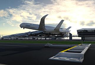 Slik flyr vi i 2050 - tror Airbus