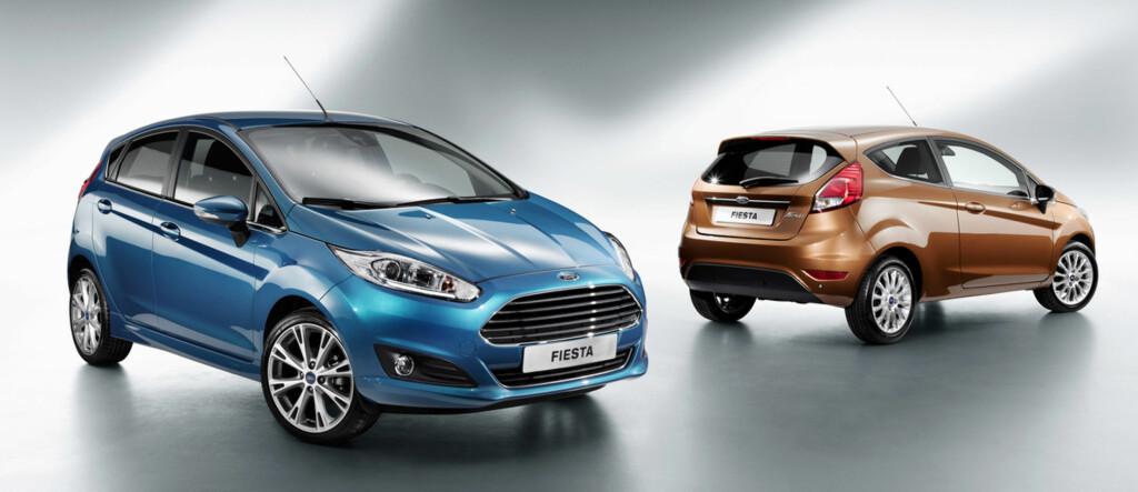Fronten har fått klare drag av Aston Martin, men også storebror Mondeo Foto: Ford