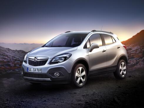 KAN DEN REDDE OPEL? Nye Opel Mokka kommer i høst - og vekker stor interesse.