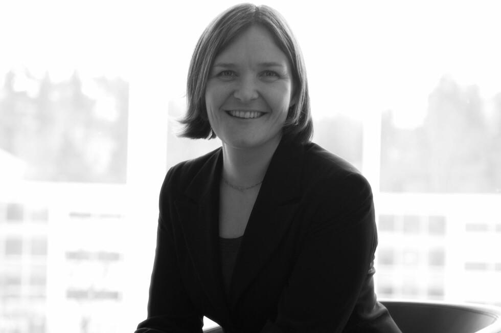 Christine T. Meisingset er glad for at det blir enda større fokus på bærekraftige investeringer. Foto: Storebrand