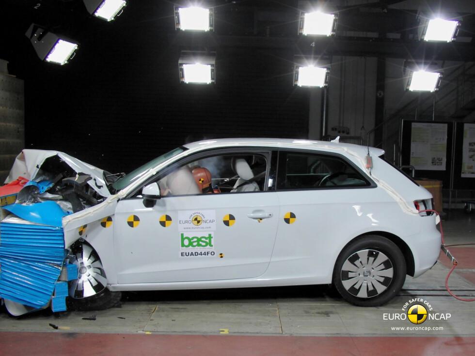 Audi A3 Foto: Euro NCAP