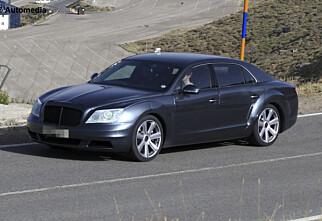 Bentley forkledd som Mercedes
