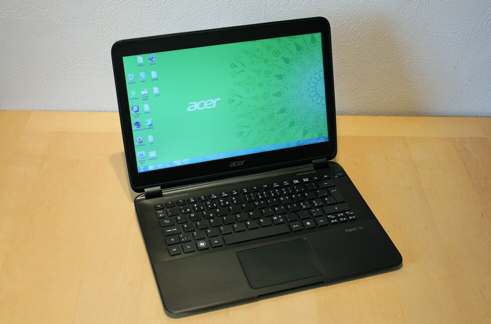 Acer har laget en fin Ultrabook i S5, men den mangler litt på å få toppkarakter. Foto: Bjørn Eirik Loftås