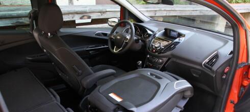 Prøvekjørt: Ford B-Max overrasker