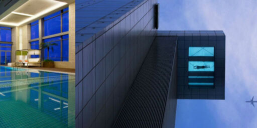 image: Spektakulære svømmebasseng