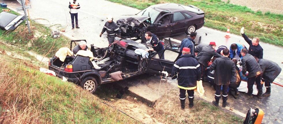 Hva skjedde i sekundene før en ulykke? De sorte boksene gir svaret.  Foto: colourbox.com