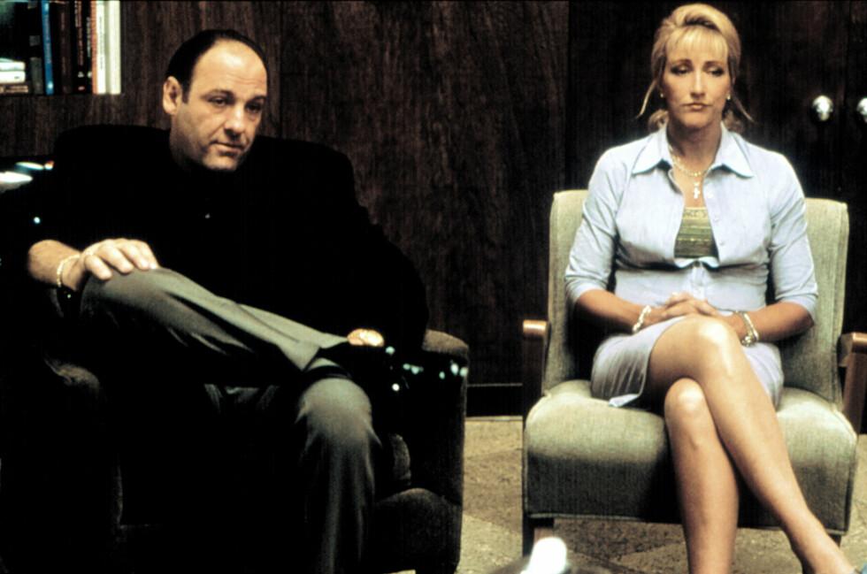 """<strong><B>KLASSIKER:</strong></B> """"The Sopranos"""" er kanskje den serien HBO er mest kjent for. Nå kommer kanalen til Norge og Norden. Foto: All Over Press"""