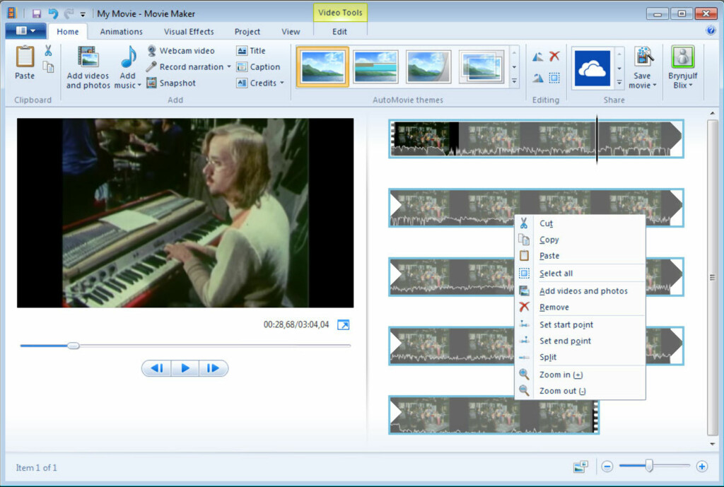 Nye Windows Movie Maker er enklere og bedre enn noensinne. Foto: Brynjulf Blix