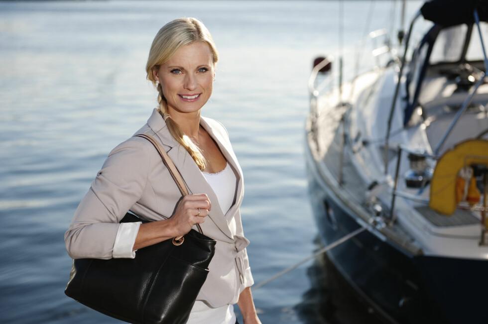 <strong>Sparer:</strong> Silje Sandmæl vil ha råd til å reise og nyte fritiden hun får som pensjonist.  Foto: DNB