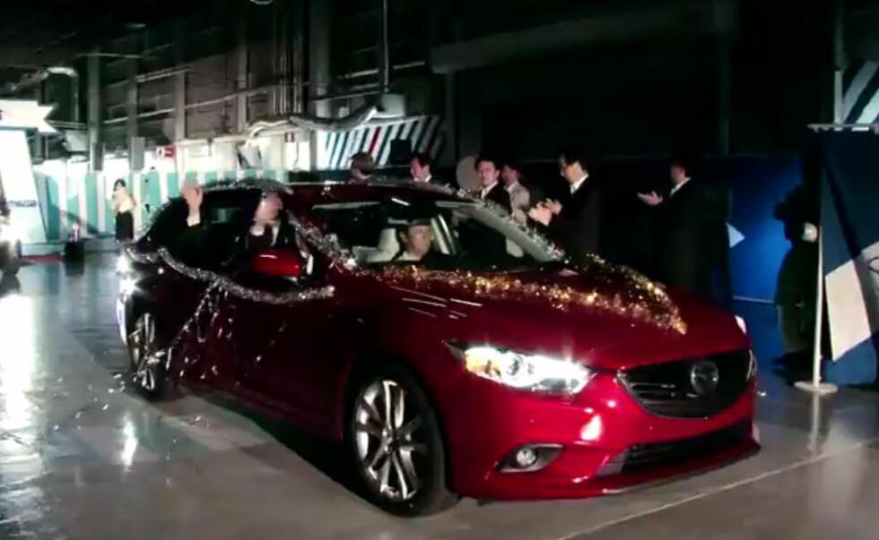Ny Mazda 6 vist internt