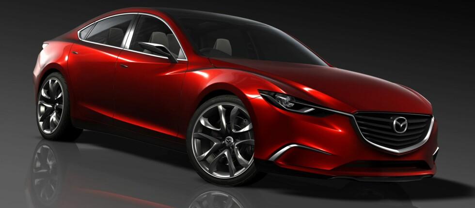 Slik ser nye Mazda 6 ut. Foto: Mazda