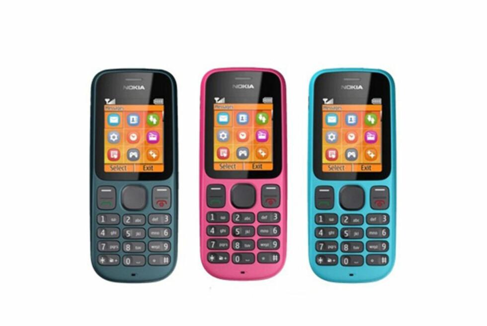 Utrolig, men sant: Det lages fortsatt mobiler med taster, og prisen er lav. Men lønner det seg med kontantkort? Foto: Produktbilde