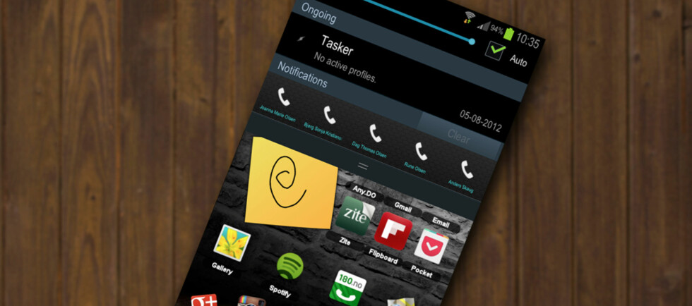 På Android kan du også legge snarveier i varslingsmenyen. En gratisapp er alt som skal til.