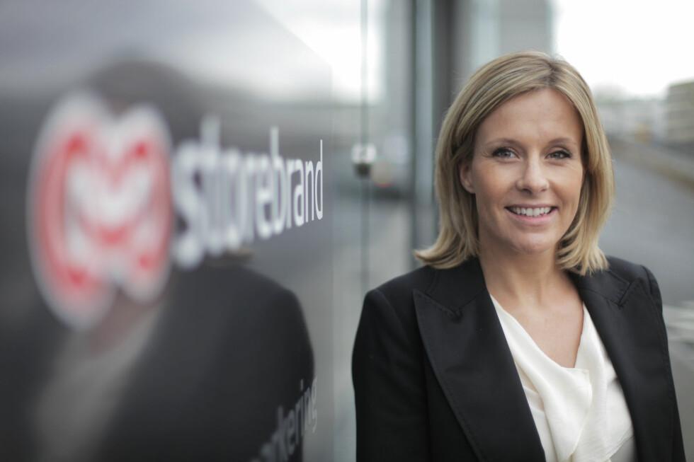 Kristina Picard, kommunikasjonssjef i Storebrand, anbefaler at alle tar en ekstra titt på kontoen etter ferien. Foto: Storebrand