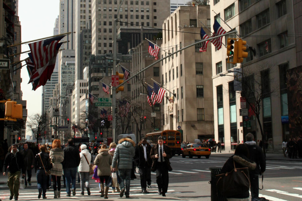 New York havner på 5. plass på listen over hvor det er lettest å få fartsbot.  Foto: Silje Ulveseth