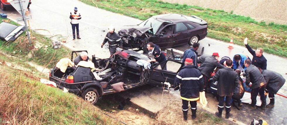 Kraftig nedgang: 2014 viser til en kraftig nedgang i antall trafikkdrepte, mot året før.  Foto: colourbox.com