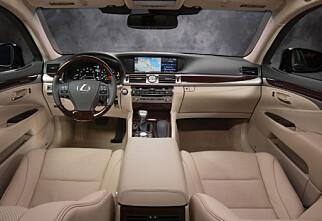 Fornyet Lexus LS 600h
