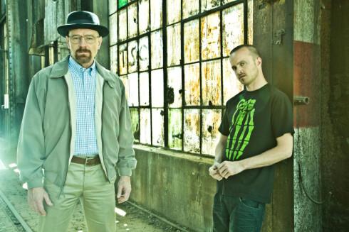 Walter White og Jesse Pinkman har gjort Albuquerque populær. Foto: Frank Ockenfels/AMC